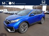 2020 Aegean Blue Metallic Honda CR-V EX AWD #137083935