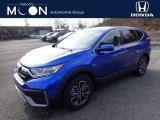 2020 Aegean Blue Metallic Honda CR-V EX-L AWD #137083932
