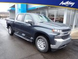 2020 Shadow Gray Metallic Chevrolet Silverado 1500 LT Crew Cab 4x4 #137100518
