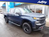 2020 Northsky Blue Metallic Chevrolet Silverado 1500 Custom Trail Boss Crew Cab 4x4 #137100515