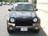 2002 Black Jeep Liberty Sport 4x4 #13683360