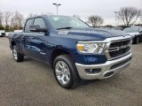 2020 Patriot Blue Pearl Ram 1500 Big Horn Quad Cab 4x4 #137115726