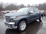 2020 Shadow Gray Metallic Chevrolet Silverado 1500 LTZ Crew Cab 4x4 #137125480
