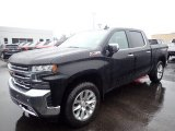2020 Black Chevrolet Silverado 1500 LTZ Crew Cab 4x4 #137125479