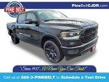 2020 Diamond Black Crystal Pearl Ram 1500 Laramie Crew Cab 4x4 #137142700