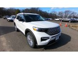Oxford White Ford Explorer in 2020