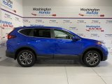 2020 Aegean Blue Metallic Honda CR-V EX-L AWD #137160861