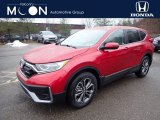 2020 Radiant Red Metallic Honda CR-V EX AWD #137160932