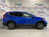 2020 Aegean Blue Metallic Honda CR-V EX-L AWD #137177602
