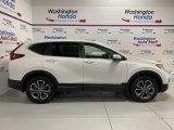2020 Platinum White Pearl Honda CR-V EX AWD #137206916