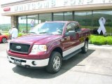2006 Dark Toreador Red Metallic Ford F150 XLT SuperCrew 4x4 #13668723