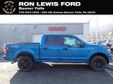 2020 Velocity Blue Ford F150 STX SuperCrew 4x4 #137245413