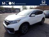 2020 Platinum White Pearl Honda CR-V EX-L AWD #137245456