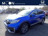 2020 Aegean Blue Metallic Honda CR-V Touring AWD #137245454