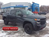 2020 Shadow Gray Metallic Chevrolet Silverado 1500 Custom Trail Boss Crew Cab 4x4 #137262067