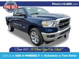 2020 Patriot Blue Pearl Ram 1500 Big Horn Quad Cab 4x4 #137261955