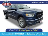 2020 Patriot Blue Pearl Ram 1500 Big Horn Crew Cab 4x4 #137261952