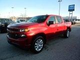 2020 Cajun Red Tintcoat Chevrolet Silverado 1500 Custom Crew Cab 4x4 #137276383