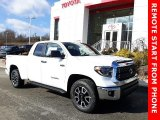 2020 Super White Toyota Tundra TRD Off Road Double Cab 4x4 #137276210