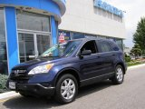 2007 Royal Blue Pearl Honda CR-V EX 4WD #13661532