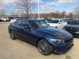 2020 Mediterranean Blue Metallic BMW 3 Series 330i xDrive Sedan #137276362