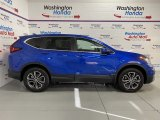 2020 Aegean Blue Metallic Honda CR-V EX AWD #137276204