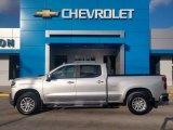 2020 Silver Ice Metallic Chevrolet Silverado 1500 LT Z71 Crew Cab 4x4 #137296281