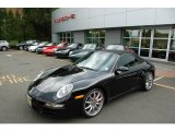 2008 Black Porsche 911 Carrera S Cabriolet #13683049