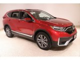 2020 Radiant Red Metallic Honda CR-V Touring AWD #137312778