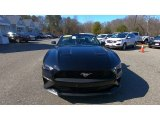 2018 Shadow Black Ford Mustang EcoBoost Convertible #137326044