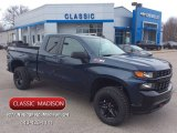 2020 Northsky Blue Metallic Chevrolet Silverado 1500 Custom Trail Boss Double Cab 4x4 #137332051