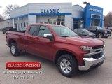 2020 Cajun Red Tintcoat Chevrolet Silverado 1500 LT Double Cab 4x4 #137332049