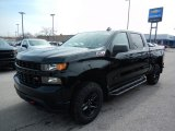2020 Black Chevrolet Silverado 1500 Custom Trail Boss Double Cab 4x4 #137332104