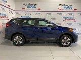 2020 Obsidian Blue Pearl Honda CR-V LX AWD #137331810