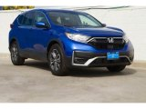 2020 Aegean Blue Metallic Honda CR-V EX-L #137331909
