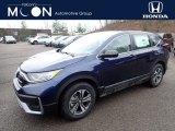 2020 Obsidian Blue Pearl Honda CR-V LX AWD #137367288
