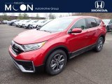 2020 Radiant Red Metallic Honda CR-V EX AWD #137367286