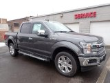 2020 Ford F150 Lariat SuperCrew 4x4 Front 3/4 View