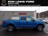 2020 Velocity Blue Ford F150 STX SuperCrew 4x4 #137380234