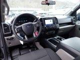 2020 Ford F150 STX SuperCrew 4x4 Black Interior