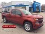 2020 Cajun Red Tintcoat Chevrolet Silverado 1500 Custom Double Cab 4x4 #137380358