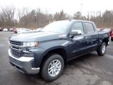 2020 Shadow Gray Metallic Chevrolet Silverado 1500 LT Z71 Crew Cab 4x4 #137380285