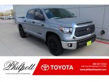 2020 Cement Toyota Tundra TSS Off Road CrewMax #137380312
