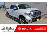 2020 Super White Toyota Tundra Limited CrewMax 4x4 #137411183