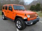 2020 Jeep Wrangler Unlimited Punkn Metallic