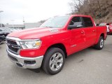 2020 Flame Red Ram 1500 Big Horn Crew Cab 4x4 #137421832