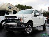2020 Star White Ford F150 Lariat SuperCrew 4x4 #137438052