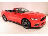 2017 Race Red Ford Mustang EcoBoost Premium Convertible #137438272