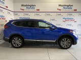 2020 Aegean Blue Metallic Honda CR-V Touring AWD #137438091
