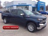 2020 Northsky Blue Metallic Chevrolet Silverado 1500 LT Z71 Crew Cab 4x4 #137455384